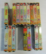 Lot Of 15 Vhs Tapes Anime - Ranma 1/2 - Anything Goes - Hard Battle - Oav Series