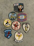 Lot Of 8 Very Rare Vietnam War Squadron Patches