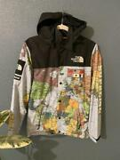 Auth Supreme The Expedition Coaches Jacket Map 2014ss Size S Used