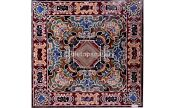 42 Pietra Dura Inlay Work Marble Square Top Dining Table Garden Decorative B563