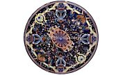 42 Marble Top Dining Table Pietra Dura Inlay Parrot Art Occasional Decor B567a