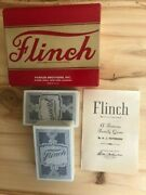 Flinch Card Game New Vintage Parker Brothers 1950and039s Collectible 2-8 Players