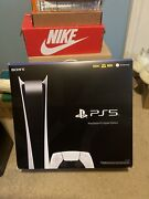 Sony Playstation 5 Console - White Digital Edition Free Shipping