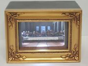 Olszewski Gallery Of Light The Last Supper Rare Jesus Art Piece Please Read