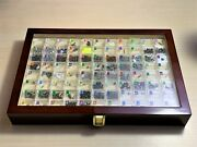 82 Periodic Table Element Tile Samples In Luxury Wooden Display