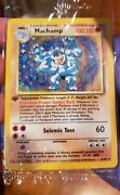 Machamp 1st Edition Holo Pokemon Card 8/102 Sealed 1999 In Original Packaging