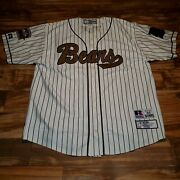 Russell Athletic Denver Bears 1955 Throwback Don Larsen 18 Sewn Jersey Size 60