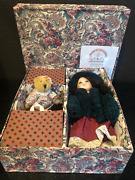Word Gallery Of Dolls Linda Steel Signed Wendy Ceramic Doll No. 0022 With Coa