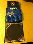 Anthony Pettis Signed Auto Wec Glove Topps Event Used Ring Mat Ufc Card Pride Fc