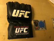 Dan Henderson Signed Ufc Glove Event Used Ring Mat Strikeforce Pride Fc Mma
