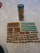 Vintage American Logs By Halsam -88 72 Pieces + 272 Regular See Photos