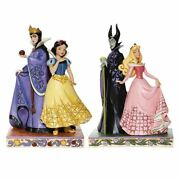 Jim Shore Disney Traditions New 2020 Snow White, Evil Queen, Maleficent And Aurora