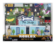 New Roblox Celebrity Collection Adopt Me Pet Store Deluxe Playset 40 Pieces