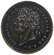 Great Britain Maundy Twopence 1825 George Iii. T78 481