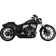 Vance And Hines 46880 - Harley Davidson Exhaust Black Mini Grenades 2018 Soft Tail