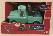 """Disney Pixar Cars Brand New Mater Supercharged 4 Working Buttons On Roof 11""""x9"""""""