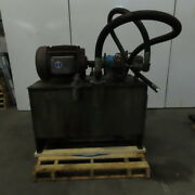 Vickers Pvb29rs20 Axial Piston Pump Hydraulic Power Unit 96 Gallon 208-460v