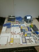 Huge Lot Of Playmobil Airport And Police Station Parts And Accessories