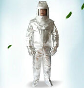 Menand039s Aluminized 500anddegc Heat Insulation Suit Thermal Radiation Protect Work Wear