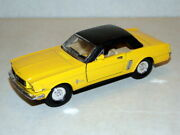 And03965 Ford Mustang Ss5719 Superior Pullback Doors And Trunk Open 5 1/2 Yellow
