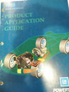 1993 Gm North American Product Application Guide Cars Trucks Engines Powertrain