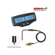Counter Double Egt-02r Koso Tachometer And Temperature Engine Sensor Fast