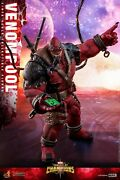 Hot Toys Vgm35 Marvel Contest Of Champions Venompool 1/6 Action Figure