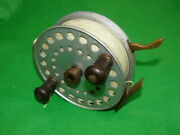 Ogden Smith London 6 Alloy Big Game Reel By Dingley D6 With Brass Brake Lever