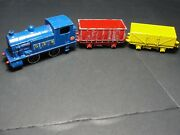 Dinky Goods Train Set No 784 Complete Play Worn