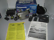 Panasonic Nv-ds99ena Mini Dv Camcorder Package As Shown Fully Tested And Working