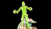 Creature From The Black Lagoon Hologram Pinball Topper-awarded 2019 Best New Mod