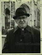 1979 Press Photo Barnard Hughes Starring In Father Brown, Detective