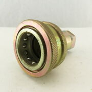 Perfecting Coupling Series H Female Hydraulic Quick Connect Fitting 3/4 Npt
