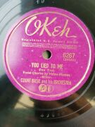 Count Basie 1941 Big Band Jazz Tune Town Shuffle And You Lied To Me Okeh 6267