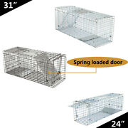 24 32 Live Animal Trap Large Rodent Cage Double Size For Little Pets