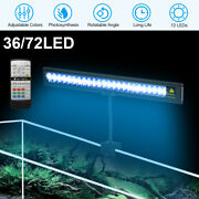 Led Aquarium Plant Light Clip On Fish Tank For Planted Saltwater Freshwater