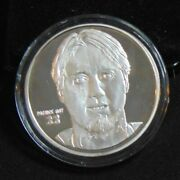 Patrick Roy Avalanche 1.5 Ozt .999 Silver Round Elite Highland Mint Coin 1 /1000