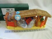 New Fisher Price Little People Nativity Stable Sounds Light Complete Music Light