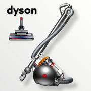 Dyson - Big Ball Canister Vacuum - Yellow/iron - Factory Refurbished