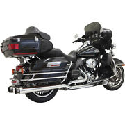 Bassani Dual Down Under Sys. For 09-16 H-d Road King Efi-flhr