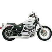 Bassani Road Rage 2-into-1 Sys. For 07-12 H-d Xl 1200n Nightster