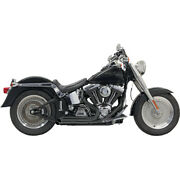 Bassani Blk Pro-street Sys. For 01-06 H-d Softail Night Train Injec.fxstb I