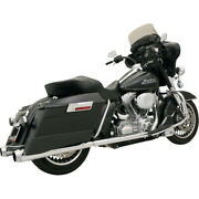 Bassani +p Bagger Duals Sys. W/ Pwr Curve 03-06 H-d Ele-glide Stand.injec.flht I