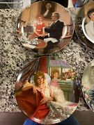 Edwin M Knowles Annie Collector Plates- Set Of 8. Signed Plate Aileen Quinn