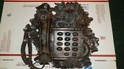 Vintage Chinese Rosewood Dragon Telephone Rare Please Read Listing