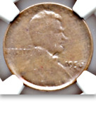 1956 Ngc Ms64 Capped Die Error █ 130000 For Au █ Unique Lincoln Wheat Cent 1c
