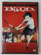Blood + - Volume 1 One Dvd 2008 Single Disc Version Anime Saya Otonashi