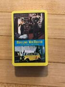 Rare Vintage Movieland Wax Museum Small Playing Cards Unopened