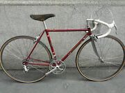 Vintage Freschi Racing Bicycle Nuovo Record Campagnolo Group 52 Cm Free Shipping