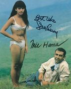 Sean Connery And Mie Hama Signed 007 James Bond 8x10 Photo - Uacc And Aftal Rd